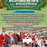 """""""Χριστουγεννιάτικη γιορτή στην Κωνωπίνα"""""""