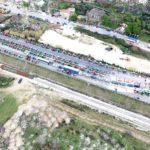 """""""Αεροφωτογραφίες από το μπλόκο των αγροτών στο Κεφαλόβρυσο"""""""