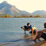 Ευρωπαϊκά κινηματογραφικά συνεργεία στο Διόνι για το άθλημα του kitesurfing