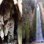 Η νεραϊδοσπηλιά και ο καταρράκτης του Σεπετού στο Μοναστηράκι
