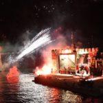 Εντυπωσιακή η αναπαράσταση της ναυμαχίας στη Ναύπακτο!