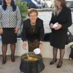 Αναβίωσε το έθιμο με τα πολυσπόρια στην Κωνωπίνα
