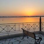 Μαγευτικά παιχνίδια του ήλιου στην λιμνοθάλασσα Μεσολογγίου