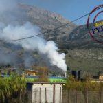 Αντιδράσεις για το έντονο νέφος από το πυρηνελαιουργείο στο Μεσολόγγι