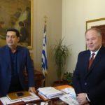 Επίσκεψη του Αρχηγού της Ελληνικής Αστυνομίας στην Αιτωλοακαρνανία