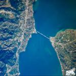 Aστροναύτης φωτογράφισε τη γέφυρα Ρίου-Αντιρρίου από το διάστημα!