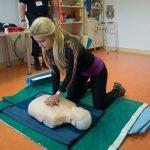 Μαθήματα πρώτων βοηθειών στην Βόνιτσα