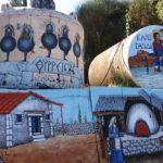 Οι εκπληκτικές ζωγραφιές στο δρόμο για το Θύρρειο!
