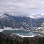Μια βόλτα στην χιονισμένη Ευηνολίμνη