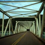 Η μεταλλική γέφυρα Ματσουκίου στον Αχελώο