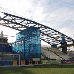 Το σύγχρονο σκέπαστρο στο γήπεδο του Παναιτωλικού
