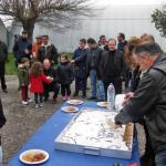 Μεγάλη προσέλευση στην κοπή πρωτοχρονιάτικης πίτας της Αερολέσχης Αγρινίου