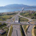 Παραδίδεται η σύνδεση της γέφυρας Ρίου-Αντιρρίου με την Ιόνια Οδό