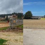 Δέσμευση Καραπάνου για άμεσο «λίφτινγκ» στα γήπεδα Αιτωλικού και Κατοχής