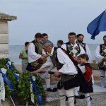 Κατάθεση στεφάνων στο μνημείο πεσόντων για τη μάχη της Κλείσοβας