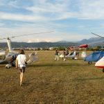 Επίσκεψη Γάλλων Αεραθλητών με τα αεροσκάφη τους στην Αερολέσχη Αγρινίου