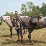 Έκθεση αλόγων και ιππικοί αγώνες στη παραλία Σάλτινη Βόνιτσας