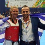 Πρωταθλήτρια Ευρώπης η Δήμητρα Μπιτσικώκου στο άθλημα του Τάε Κβο Ντο!