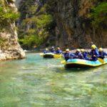 Rafting στον Εύηνο ποταμό, μια συναρπαστική εμπειρία στις κορυφαίες καταβάσεις της Ελλάδος!