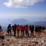 Μεγάλη συμμετοχή στην πεζοπορία στα Ακαρνανικά όρη και στην κορυφή Μπούμιστος