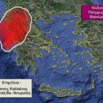 Βροχές, ισχυροί άνεμοι και κίνδυνοι για πλημμυρικά φαινόμενα στην Αιτωλοακαρνανία