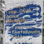 Χιόνισε στα χωριά της ορεινής Ναυπακτίας (photos)