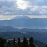 Εξαίσια μελαγχολική σύναξη της φύσης στο ορεινό Θέρμο