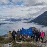 Η ομάδα πεζοπορίας του Ορεινού Βάλτου στη «σκεπή» της Κοιλάδας Αχελώου