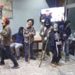 Οι μασκαράδες βγήκαν στα χωριά και αναβίωσαν το αποκριάτικο έθιμο!