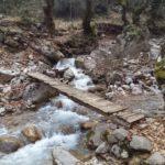 Τα κουκλίστικα ξυλογέφυρα της Κοσκινάς στο ορεινό Θέρμο