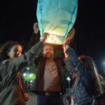 Αναβίωσε το πασχαλινό έθιμο με τα αερόστατα στη Μυρτιά Τριχωνίδας