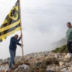 Αστακιώτες ύψωσαν την σημαία της ΑΕΚ στη κορυφή του όρους Βελούτσα!