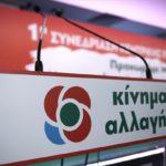 Οι υπεύθυνοι θεματικών ενοτήτων της Ν.Ε. Αιτωλoακαρνανίας του Κινήματος Αλλαγής