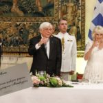 Με αυγοτάραχο και ούζο Μεσολογγίου το επίσημο δείπνο προς τιμήν του πρίγκιπα Κάρολου!