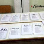 Εθνικές Εκλογές 2019: Όλα τα ονόματα των υποψηφίων βουλευτών του νομού Αιτωλοακαρνανίας
