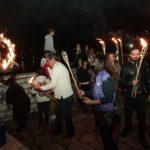 Το έθιμο της λαμπαδηφορίας για την επέτειο της 28ης Οκτωβρίου στον Αστακό