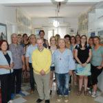 Ο Αιτωλοακαρνάνας Λεωνίδας Καλαβρουζιώτης επισκέφθηκε το Εργαστήρι «Παναγία Ελεούσα»