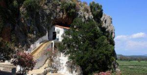 Η Παναγία Φανερωμένη στο Βαλτί Αστακού