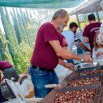Ανεπανάληπτη η γιορτή κάστανου και τσίπουρου στον Άγιο Δημήτριο Ναυπακτίας
