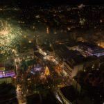 Ένα μαγευτικό βίντεο από το χριστουγεννιάτικο Αγρίνιο