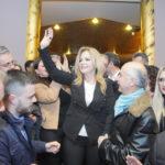 Με μεγάλη προσέλευση η πρώτη προεκλογική συγκέντρωση της Χριστίνας Σταρακά
