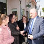 Το πρώτο εκλογικό κέντρο εγκαινίασε ο Κώστας Λύρος στο Αιτωλικό