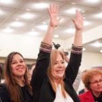 Παράσταση Νίκης για την Χριστίνα Σταρακά στη παρούσιαση των υποψηφίων
