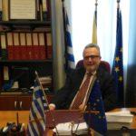 Διάκριση τιμής και αναγνώρισης για τον Γιώργο Βασιλείου από το Αγρίνιο
