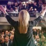Την Πέμπτη 23 Μαΐου στη Πλατεία Δημοκρατίας η κεντρική ομιλία της Χριστίνας Σταρακά