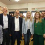 Η Φώφη Γεννηματά και ο Γιώργος Παπανδρέου στο πλευρό του Κατσιφάρα και της Σταρακά