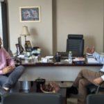 Συνάντηση Κατσιφάρα-Φαρμάκη στην Περιφέρεια Δυτικής Ελλάδας