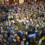 Το αδιαχώρητο στην προεκλογική ομιλία του Μάριου Σαλμά στο Αγρίνιο