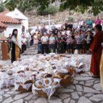 Με μεγαλοπρέπεια τελέστηκε και φέτος ο εσπερινός στην Αγία Παρασκευή στον Αστακό
