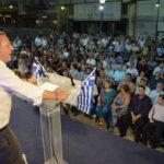 Κοσμοσυρροή στην ανοιχτή ομιλία του Σπήλιου Λιβανού στο Αγρίνιο